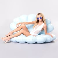 Mermaid Shell Over Sized Pool Float - Blue