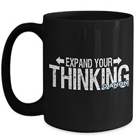 Q Anon 15 oz Coffee Cup Expand Your Thinking