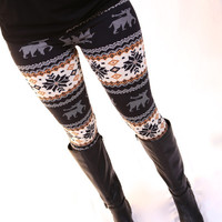 Fleece Lined Winter Leggings