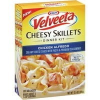 Kraft Dinners Chicken Alfredo Velveeta Cheesy Skillets, 12.5 oz - Walmart.com