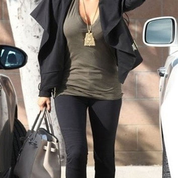 Work Custom Jeans Zepplin Leggerra Jeans in Smoke Black- As Seen on Kim Kardashian !