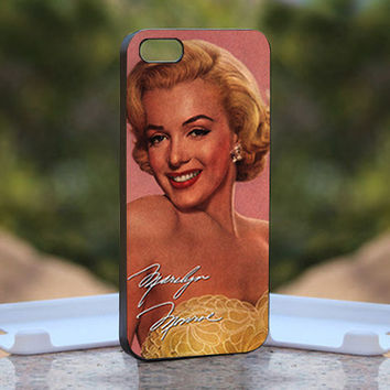 Sexy Marilyn Monroe - Design available for iPhone 4 / 4S and iPhone 5 Case - black, white and clear cases