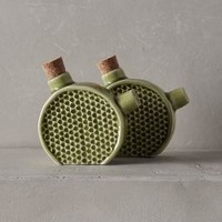 Honey Hive Salt & Pepper Shakers by Anthropologie