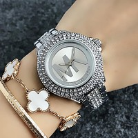 MICHAEL KORS MK Women/Men Simple Fashion More Diamond Watch Business Quartz Watch