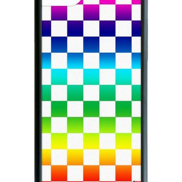 Rainbow Checkers iPhone 6/7/8 Case
