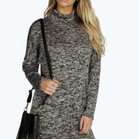 Lola Turtle Neck Knitted Dress