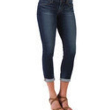 Articles of Society Karen Cut Off Skinny Jeans - Delray Denim