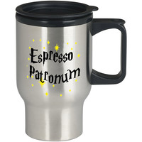Harry Potter Espresso Patronum For Stainless Travel Mug *