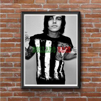 Sleeping With Sirens (kellin quinn black shirt) Photo Poster 16x20 18x24
