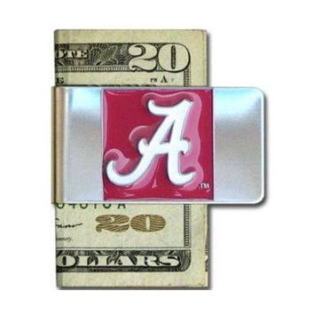 Alabama Crimson Tide Steel Money Clip