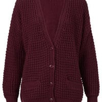 Knitted Textured Stitch Cardi