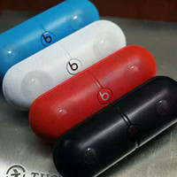 Beats Pill Rechargeable Bluetooth Stereo Speaker With Custom Sound Case G-A-GHSY-1