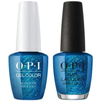 OPI - Gel & Lacquer Combo - Nessie Plays Hide & Sea-k