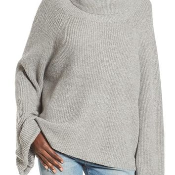Leith Cowl Neck Shaker Pullover | Nordstrom