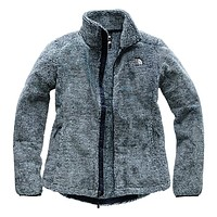 Women's Osito 2 Full Zip Jacket in Urban Navy and Blue Haze Stripe by The North Face - FINAL SALE