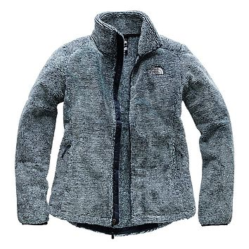 Women's Osito 2 Full Zip Jacket in Urban Navy and Blue Haze Stripe by The North Face