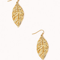 Earthy Leaf Earrings