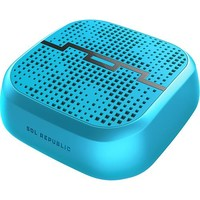 SOL REPUBLIC - PUNK Indoor/Outdoor Wireless Bluetooth Speaker - Horizon Blue