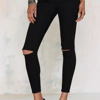 Aline High-Waisted Cropped Skinny Jeans