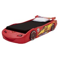 Disney/Pixar Cars Twin Bed with Lights – Red