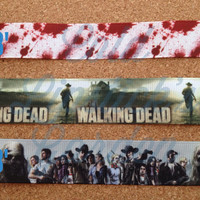 The Walking Dead handcrafted lanyard - Five different styles