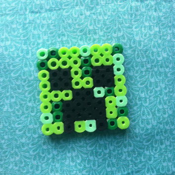 Perler Bead Minecraft: Creeper