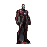 Captain America Civil War Iron Man Standing Cardboard Standup