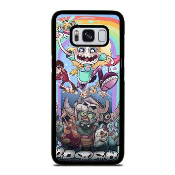 DISNEY STAR VS THE FORCE OF EVIL Samsung Galaxy S3 S4 S5 S6 S7 Edge S8 Plus, Note 3 4 5 8 Case Cover
