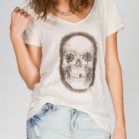 Volcom Eye Of The Palm Womens Tee Beige  In Sizes