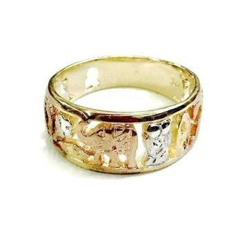 Good Luck Ring 18KTS of Gold Plated Ring
