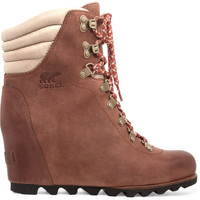 Sorel - Conquest™ leather wedge boots