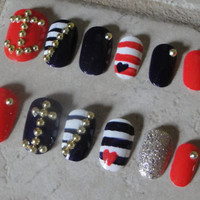Ahoy, Matey - Set of Artificial Nails