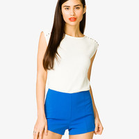 Rhinestoned French Terry Top | FOREVER 21 - 2026126201