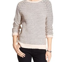 Banana Republic Factory Stitch Knit Raglan Sweater
