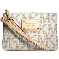 MICHAEL Michael Kors Jet Set Small Signature Wristlet
