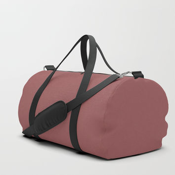 Marsala Duffle Bag by spaceandlines