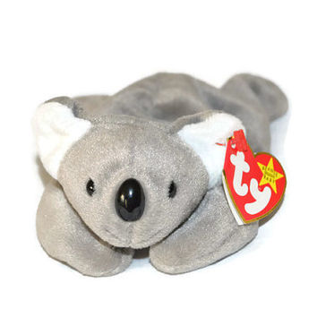 Free US Shipping, Ty Beanie Babies, Mel Koala Bear, Retired NWT, DOB January 15 1996, Vintage Stuffed Toy, Vintage Plush, Rare Collectible