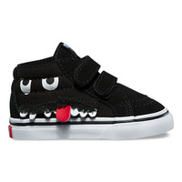 Toddler Monster Face SK8-Mid Reissue V | Shop At Vans