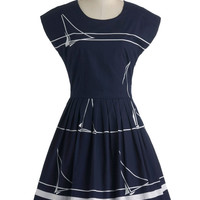 Sailing School Soiree Dress | Mod Retro Vintage Dresses | ModCloth.com