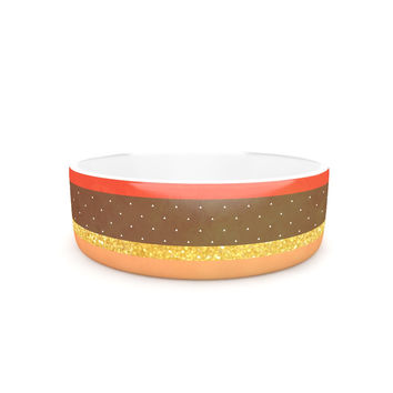 "Strawberringo ""Mix"" Multicolor Hodge Podge Pet Bowl"