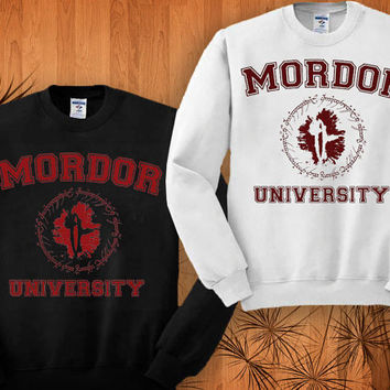 Mordor Harry Potter sweatshirt black and white size S - 3XL