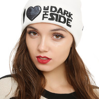 Star Wars I (Heart) The Dark Side Watchman Beanie