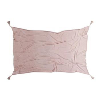 Ombre Cotton Blanket - Soft Pink
