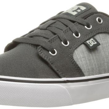 DC Mens Anvil TX SE Shoes Charcoal Grey 9 D(M) US '