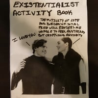 Existentialist Activity Book Zine