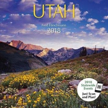Utah Protege Wall Calendar, Utah by American West Books