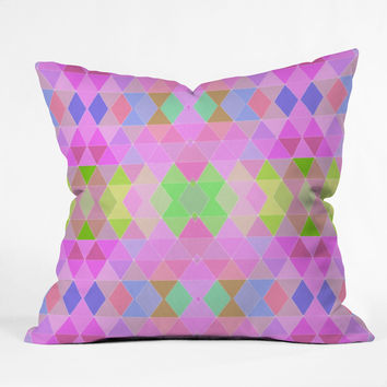 Lisa Argyropoulos Carnival 1 Throw Pillow