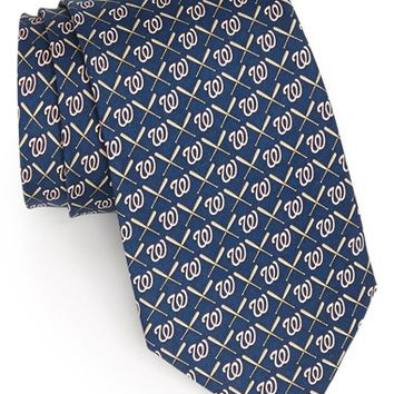 Men's Vineyard Vines Washington Nationals Print Tie, Size Regular