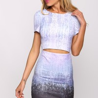 HelloMolly | Ombre Dress Purple - Dresses