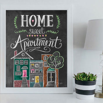 Home Sweet Apartment - Print